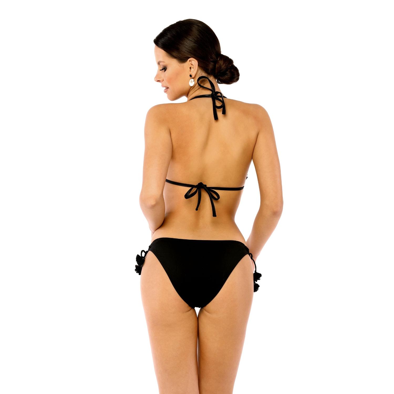 Bikini Biustonosz Kapielowy PUSH UP EDIT KN Q2 CZARNY LAVEL tyl